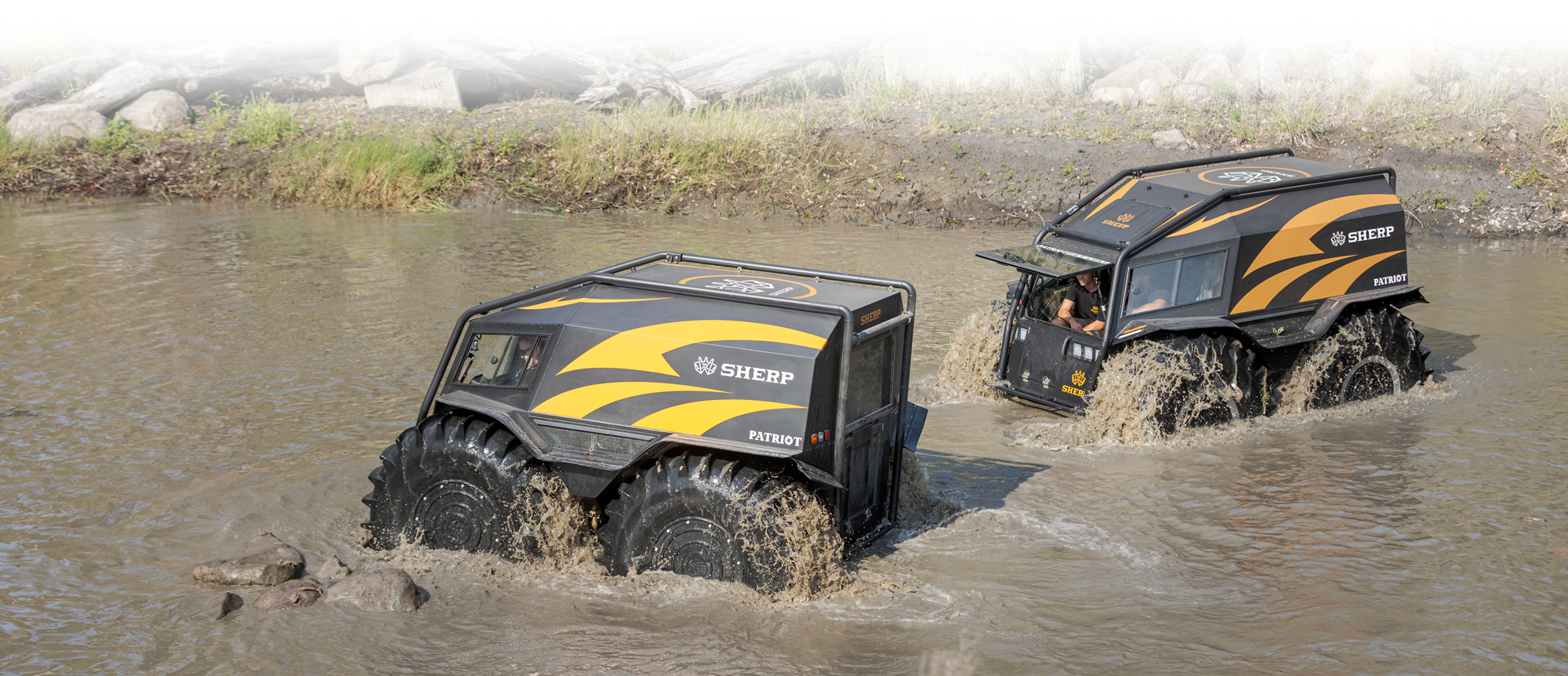 SHERP Australia and New Zealand wading through water