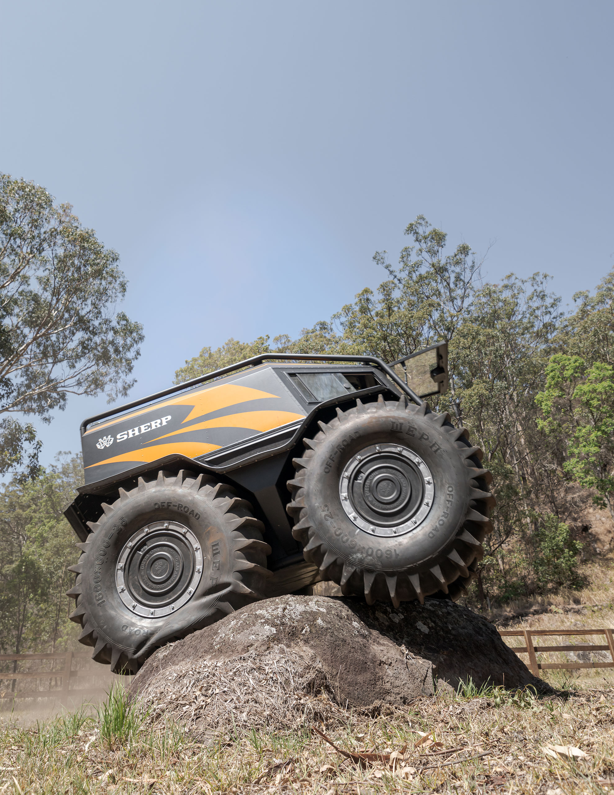 SHERP Australia off-road ability